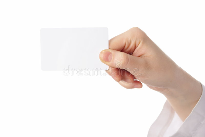 Download Hand Holding Ticket On White Stock Photo - Image: 8359400