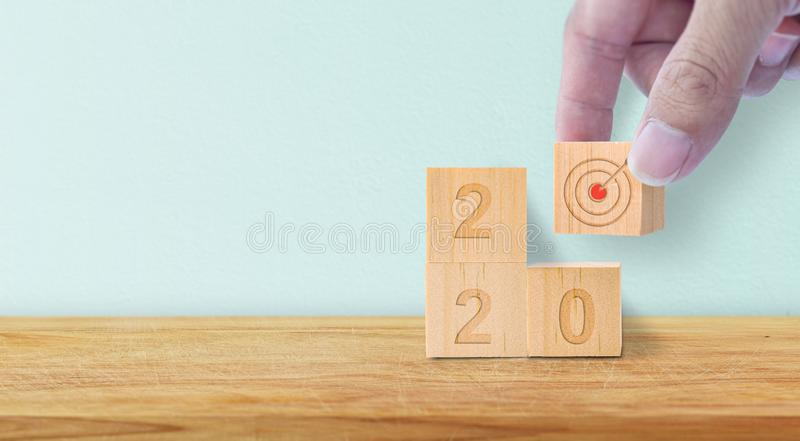 New Year 2020 concept. stock image