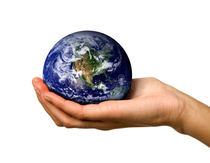 Download Hand holding World stock image. Image of cradle, female - 4957341