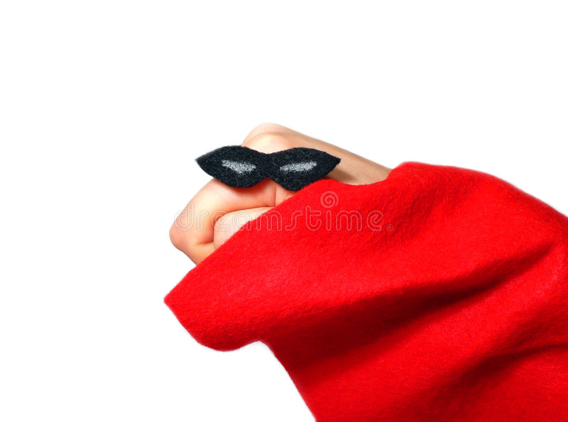 Download Hand humor stock photo. Image of draped, masked, black - 4151518