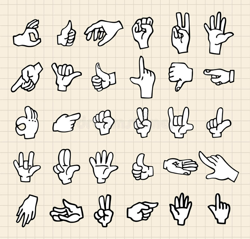 Download Hand icon stock vector. Illustration of illustration - 16394633