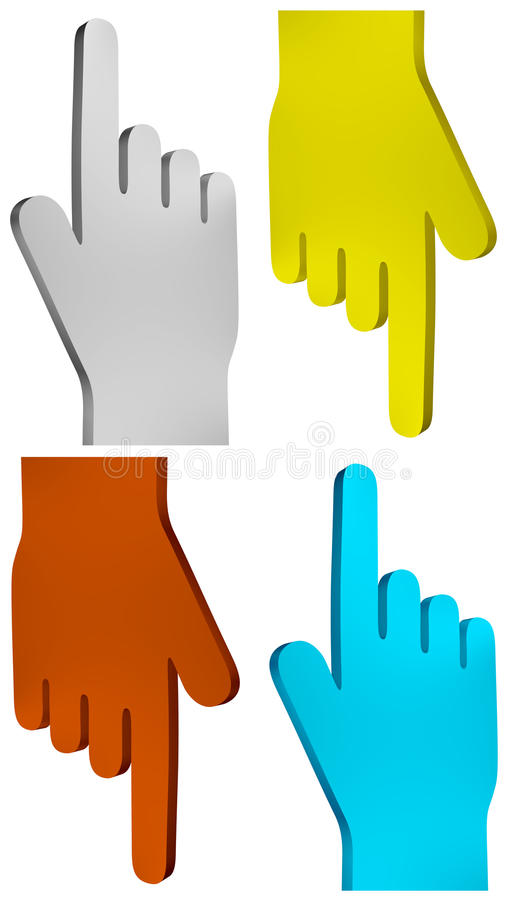 Hand Icon Royalty Free Stock Image