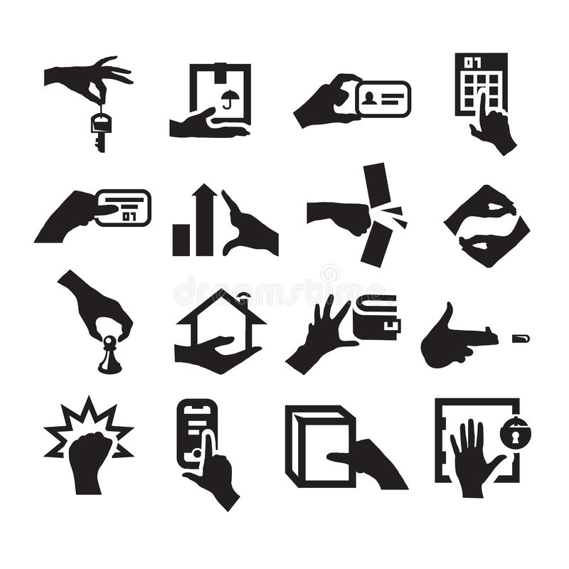 Free Hand Icons Stock Photos - 32313573