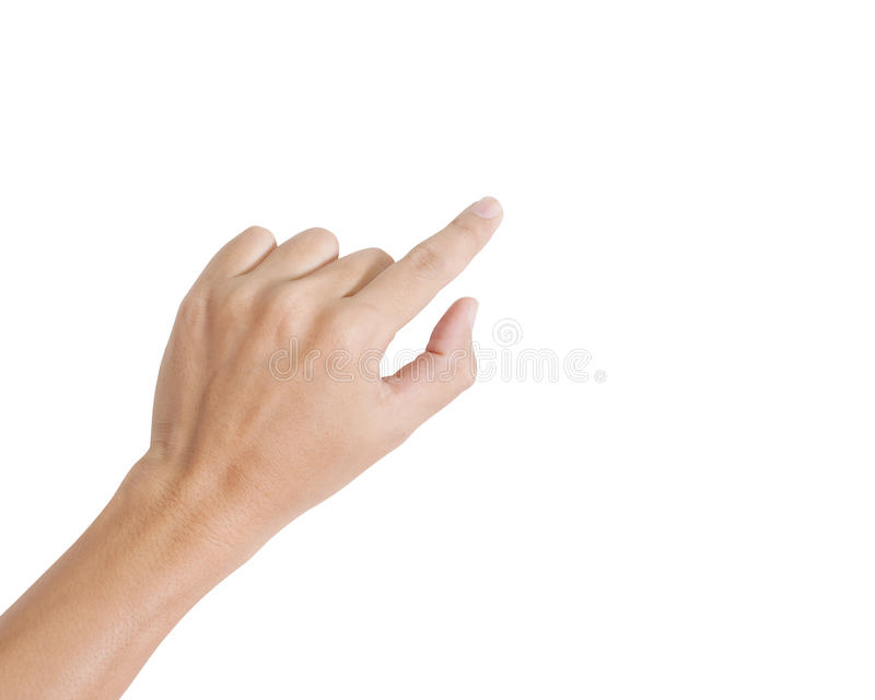 Download Hand isolated stock photo. Image of palm, gesturing, point - 26526778