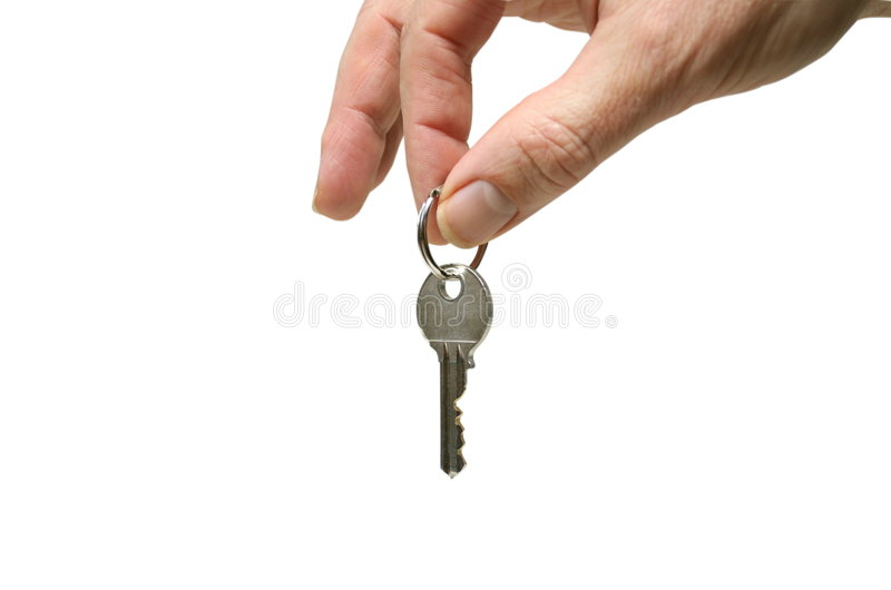 Download Hand with key stock image. Image of broking, rent, keys - 586911