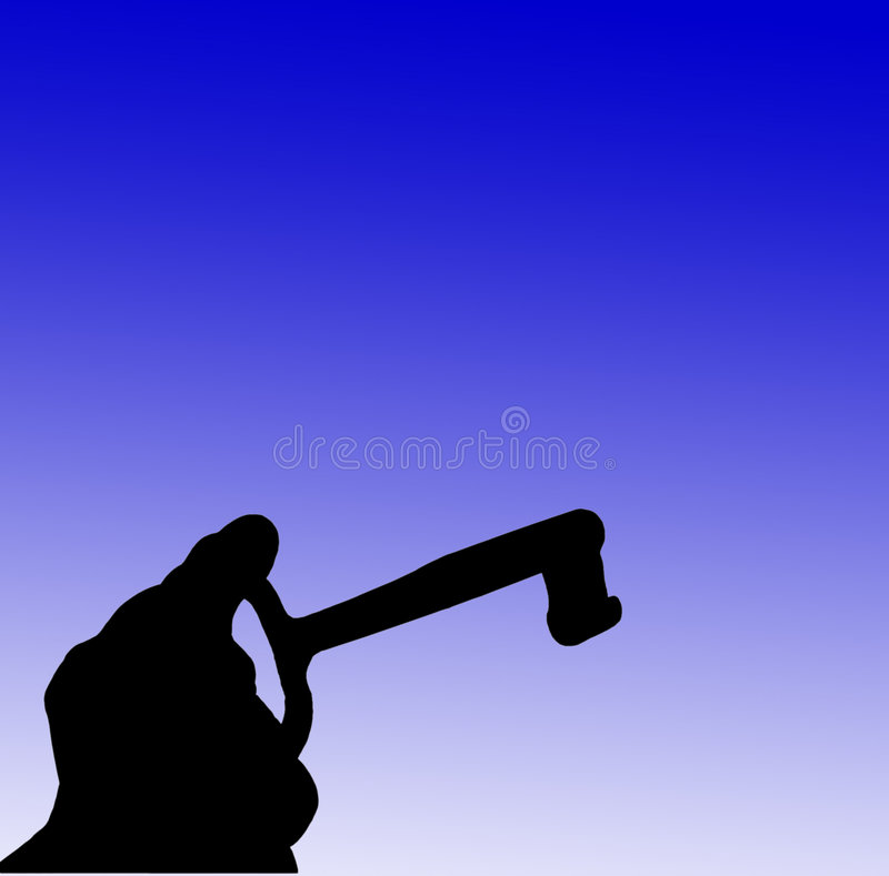 Download Hand and key silhouette stock illustration. Illustration of silhouette - 159973