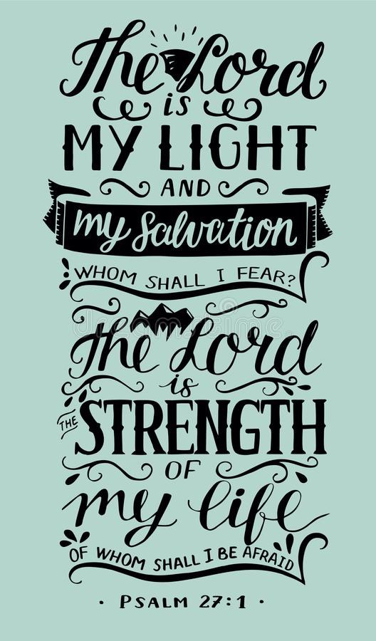 My Light And Airy Living Room Transformation: Hand Lettering With Bible Verse The Lord Is My Light And