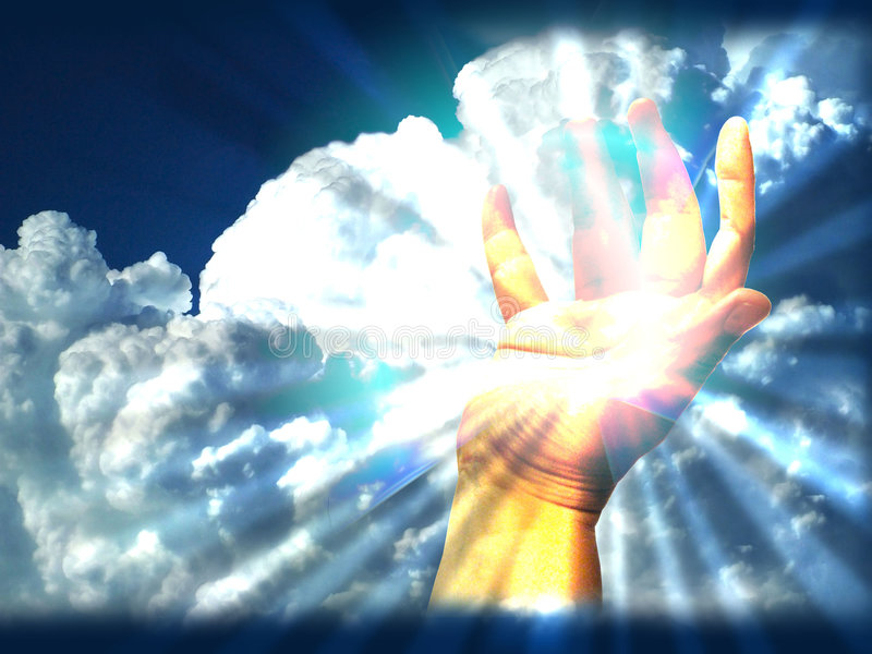 Download Hand light my απεικόνιση αποθεμάτων. εικόνα από απεικόνιση - 125549