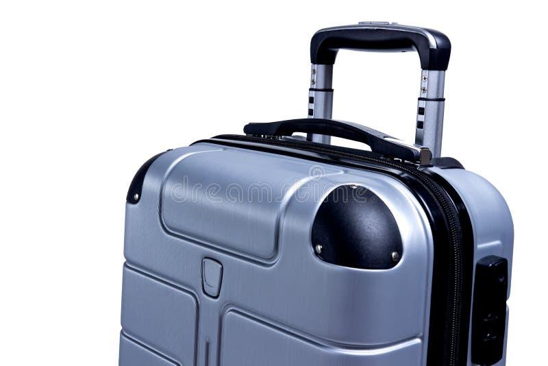 Hand Luggage suitcase isolated on white background royalty free stock photography