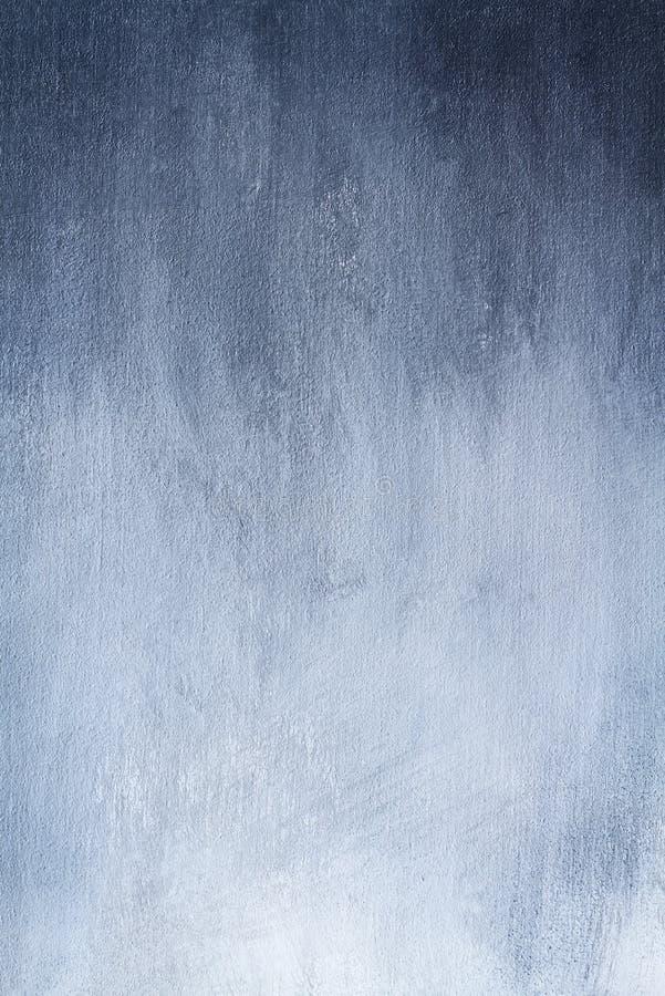 Hand målade Ombre Gray Texture arkivbild