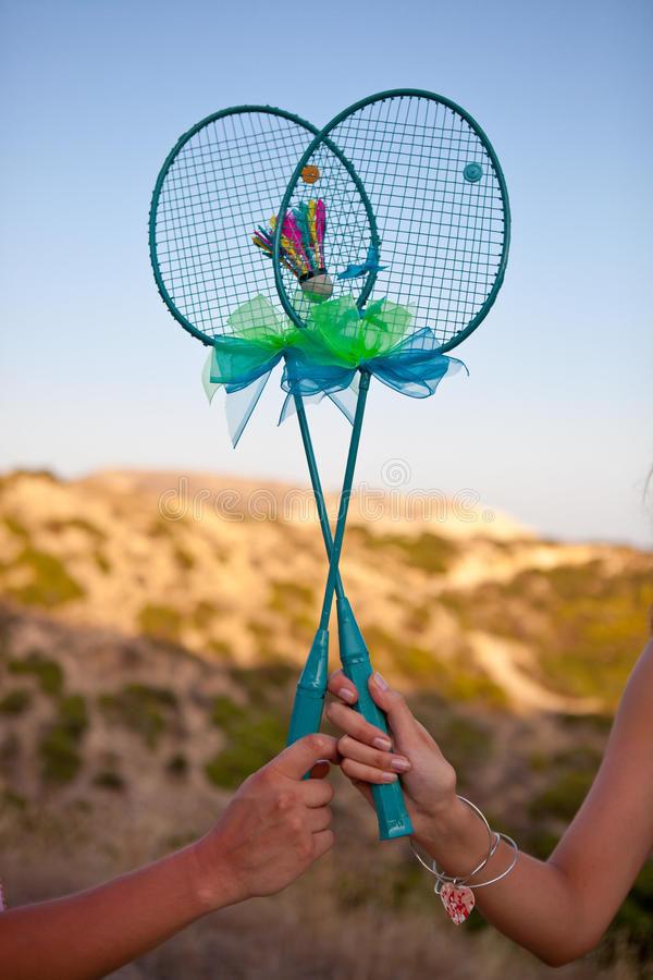 Download Hand Made Badminton Rackets Stock Photo - Image: 28831158
