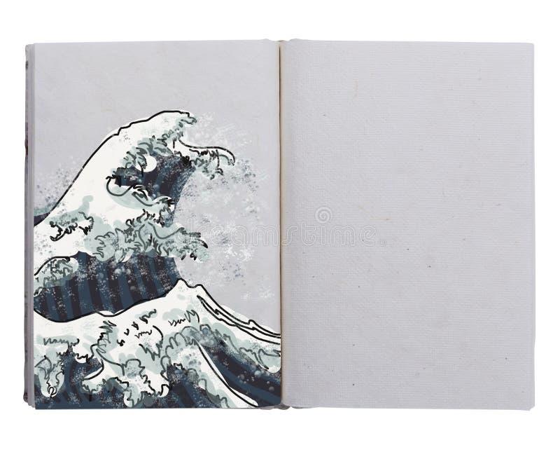 Hand made book royalty free stock photos