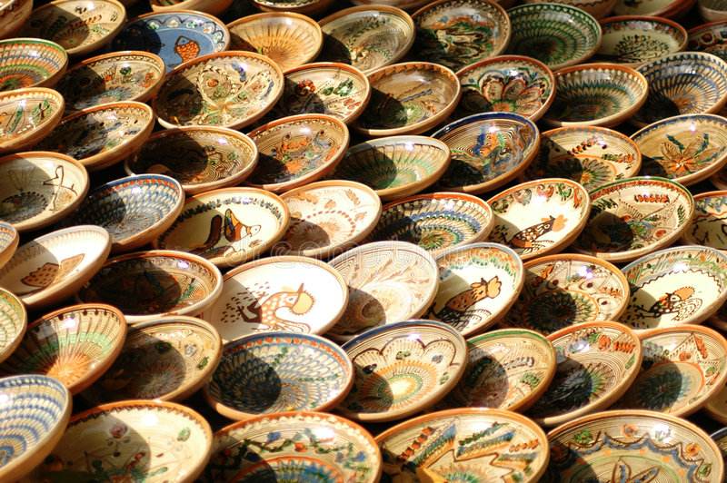 Hand-made Bowl From Maramures. Stock Images