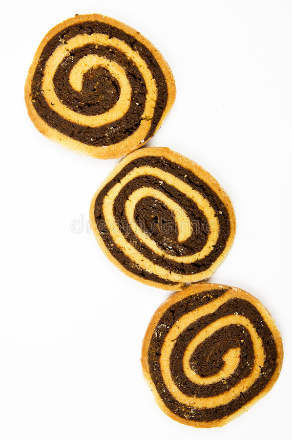 Download Hand Made Chocolate Swirl Cookies Stock Photo - Image: 7918226