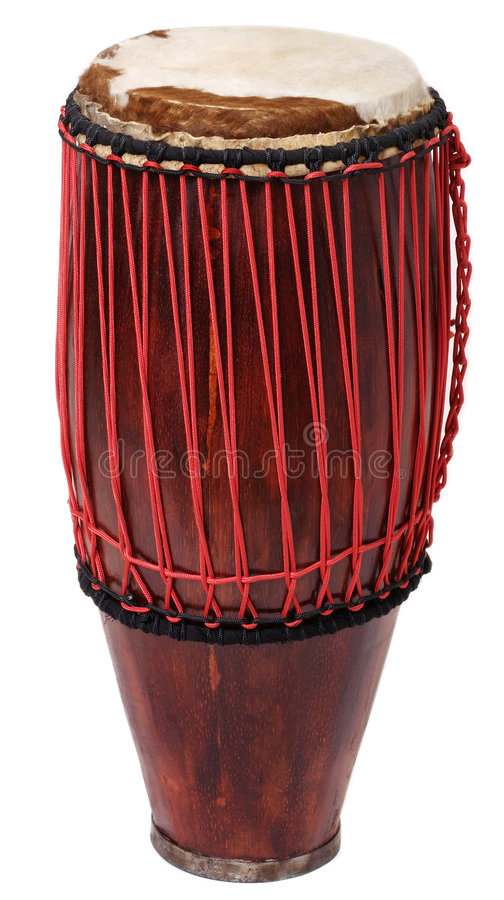 Hand made-drum. Standing royalty free stock photos