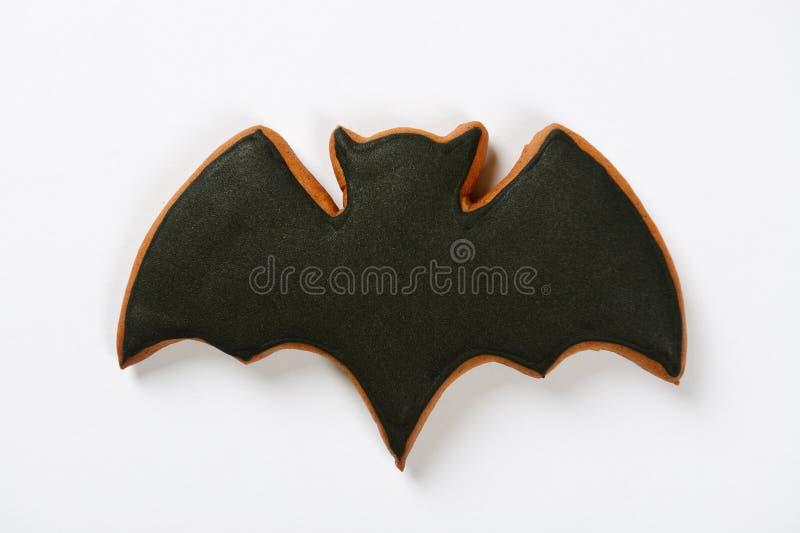 The hand-made eatable Halloween bat royalty free stock image