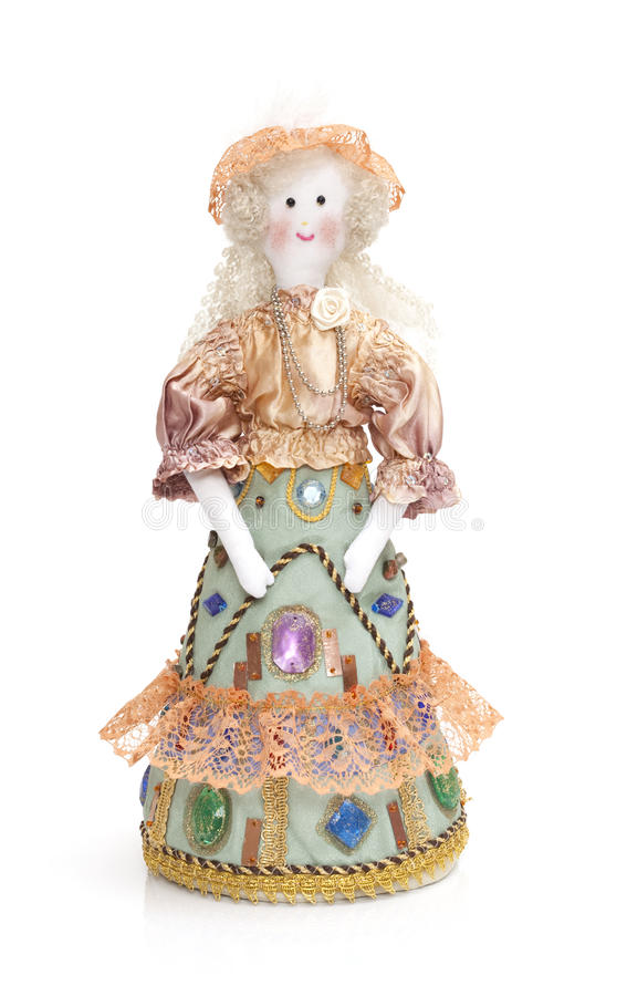 Download Hand made rag doll stock image. Image of traditional - 18765821