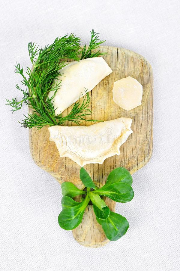 Download Hand made ravioli stock image. Image of delicious, face - 23439711