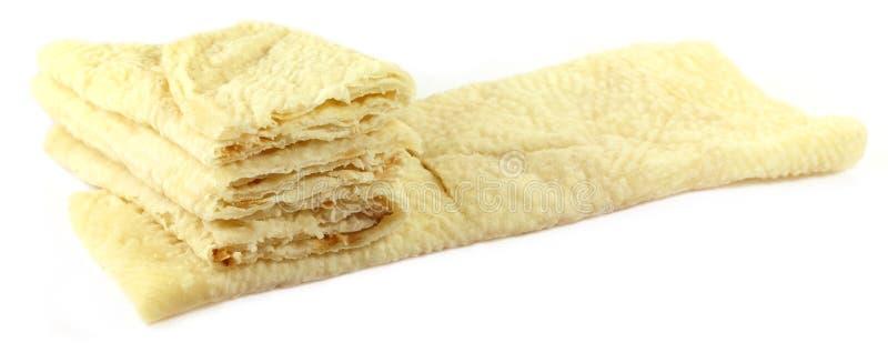 Hand made roti bread royalty free stock photo