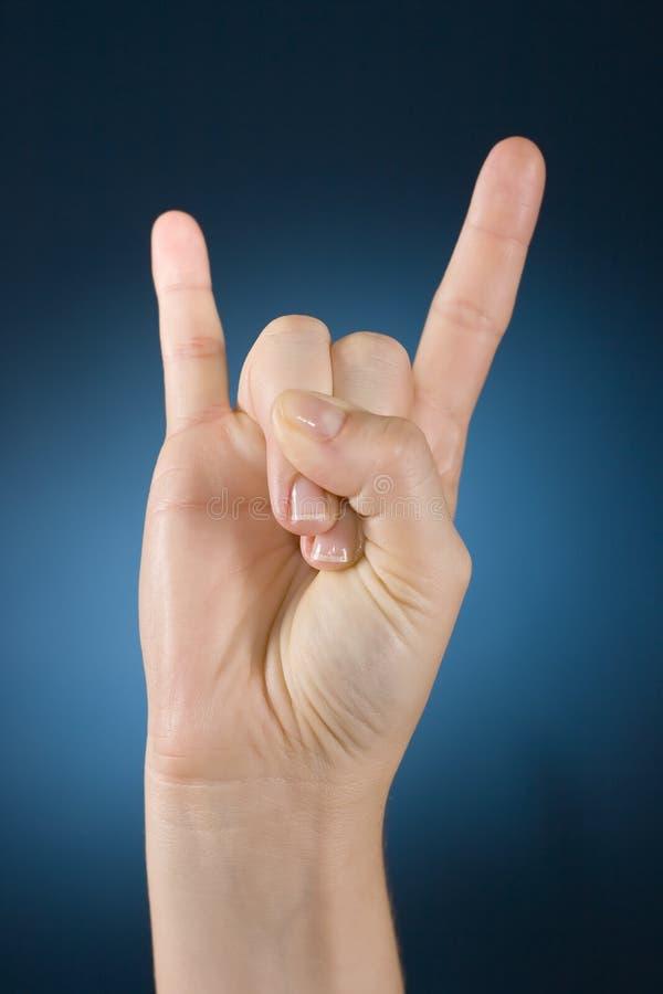 Free Hand Make Symbol Stock Images - 1127134