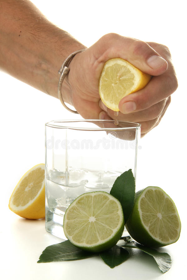 Download Hand Of Man Serve A Cocktail Stock Image - Image: 9986981