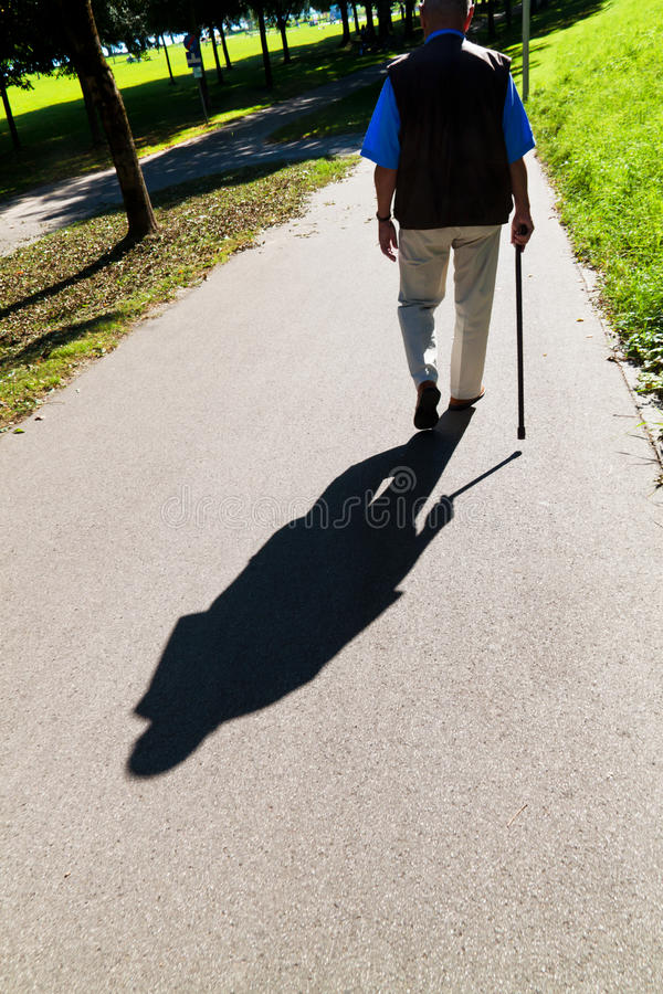 Download Hand Of A Man With Walking Stick Stock Image - Image of health, hand: 19653895