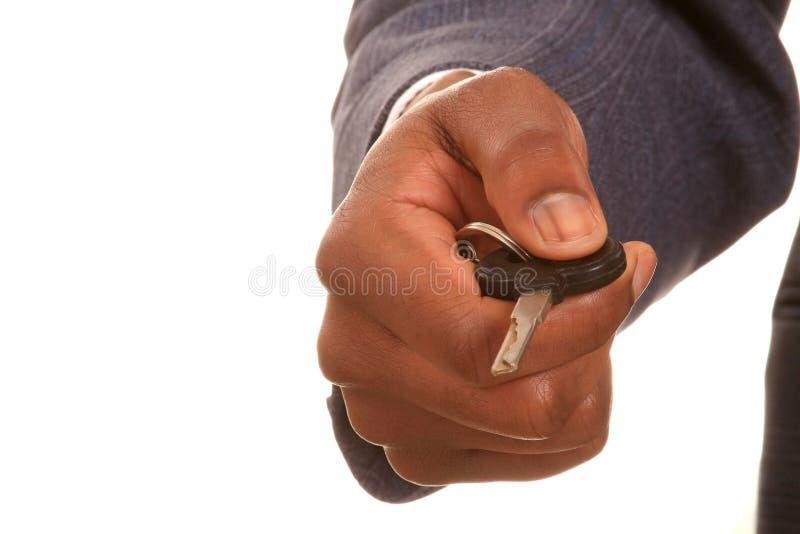 Hand med tangent royaltyfri foto