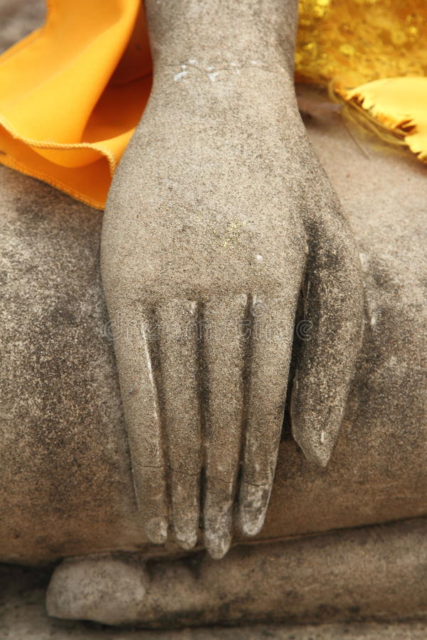 Hand/meditation royalty free stock photos