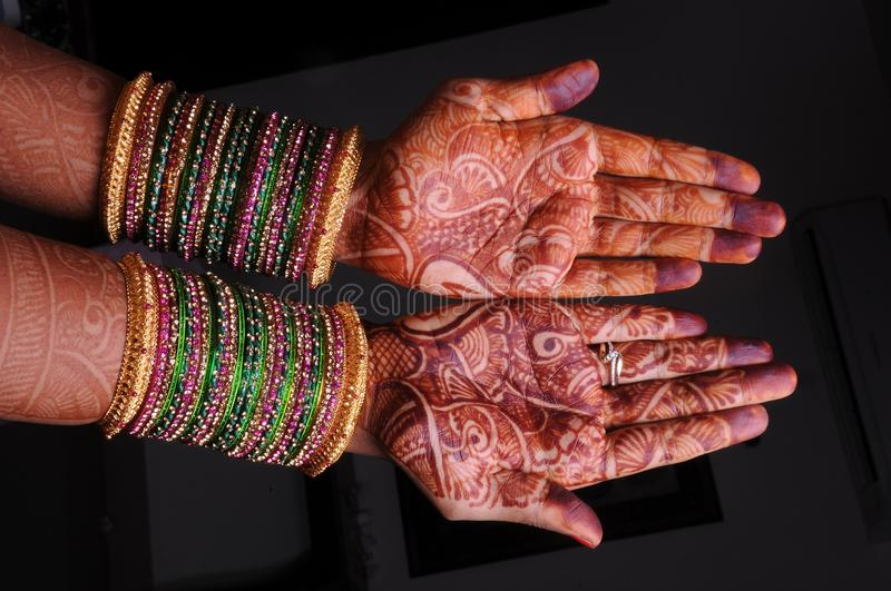 Hand, Mehndi, Finger, Pattern royalty free stock photography