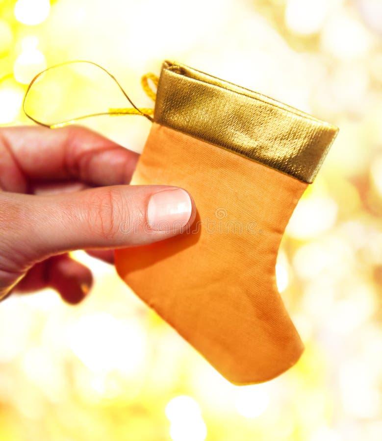 Download Hand mit Socken stockfoto. Bild von hell, geschenk, kunst - 27730314