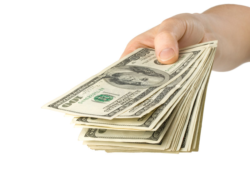 Hand Geld