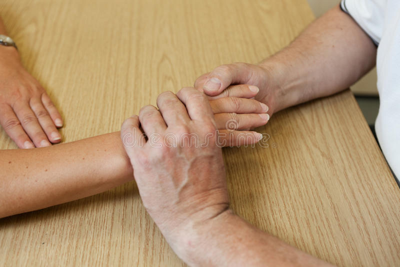 Hand occupational therapy stock photo