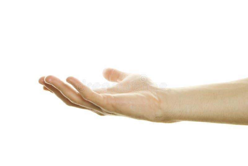 Hand Open stock image