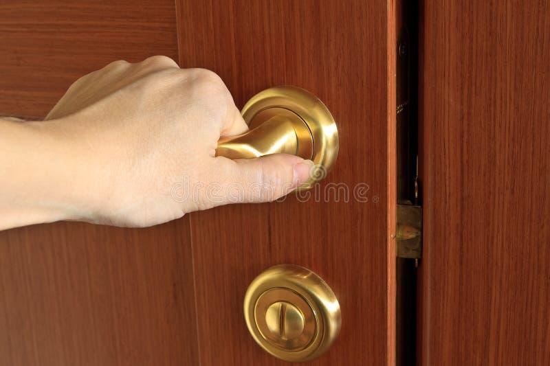 Download Hand Opening Door Stock Photo - Image 17282410 & Hand Opening Door Stock Photo - Image: 17282410 pezcame.com