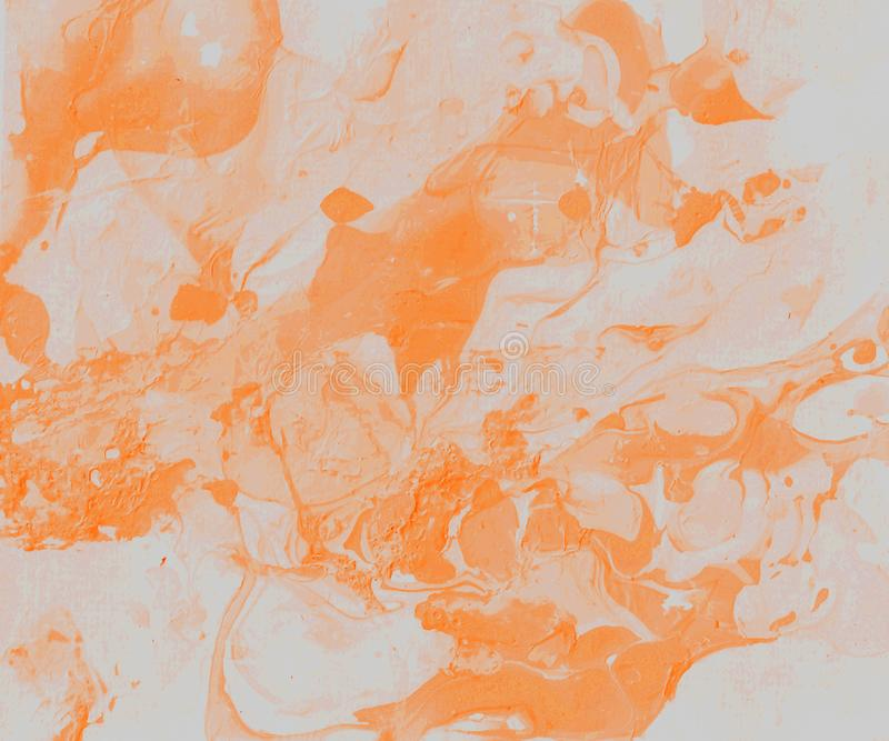 Hand-painted  abstract background royalty free illustration