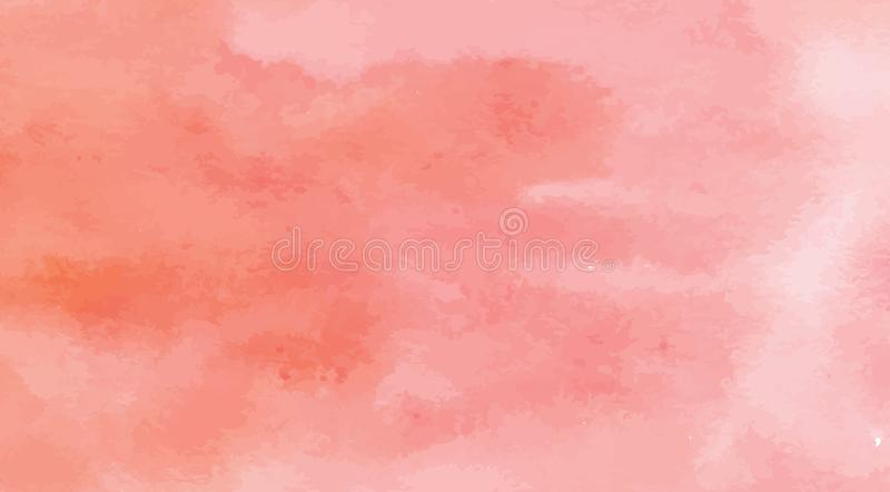 Hand Painted Art Of Watercolor Paint On Watercolor Paper royalty free stock photo