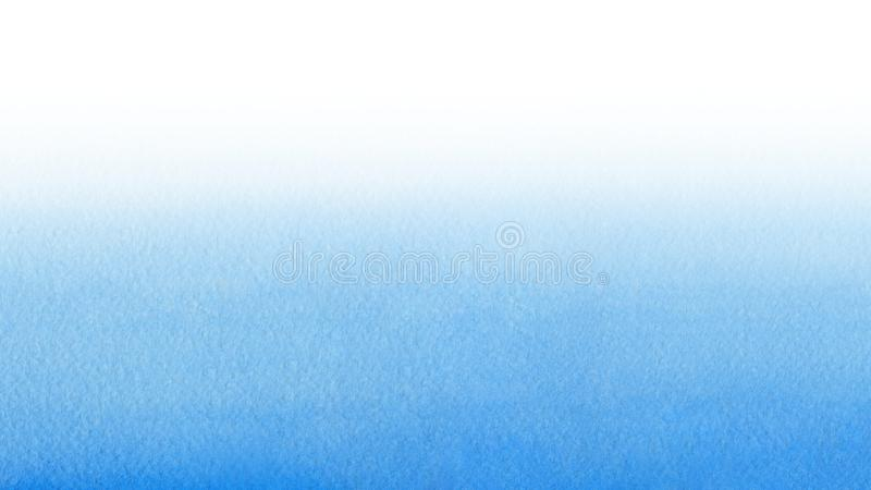 Hand painted blue watercolor background. Watercolor wash royalty free stock images