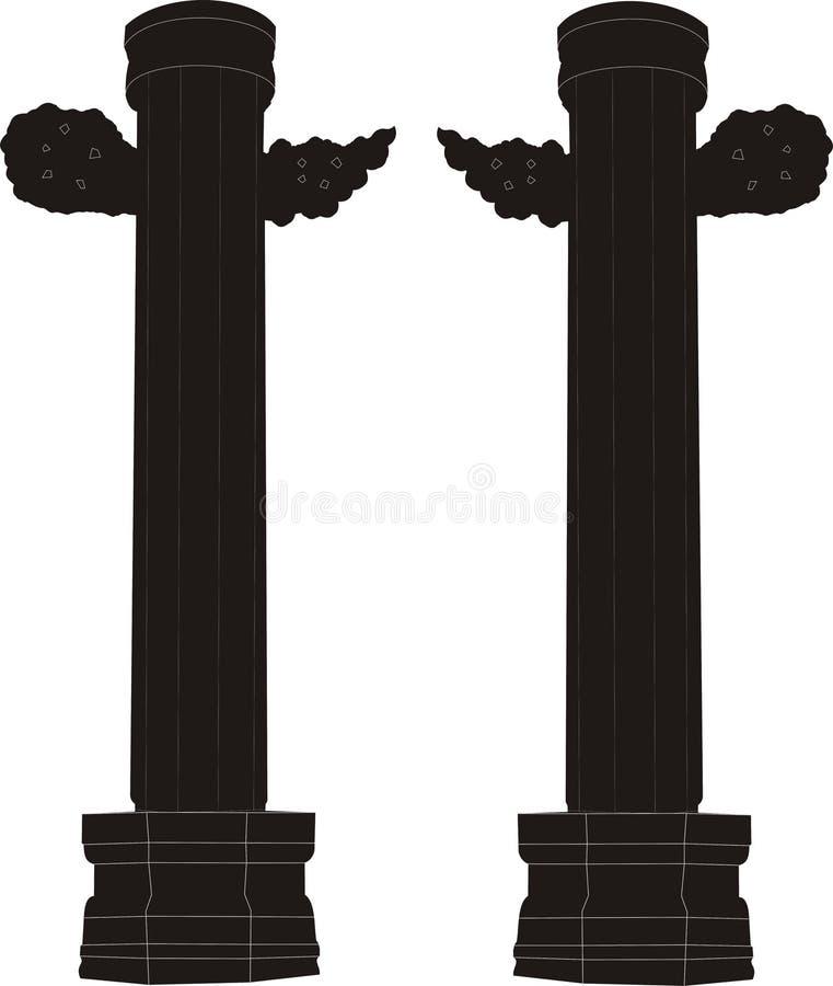 Free Hand-painted Marble Pillar Stock Photo - 9814970