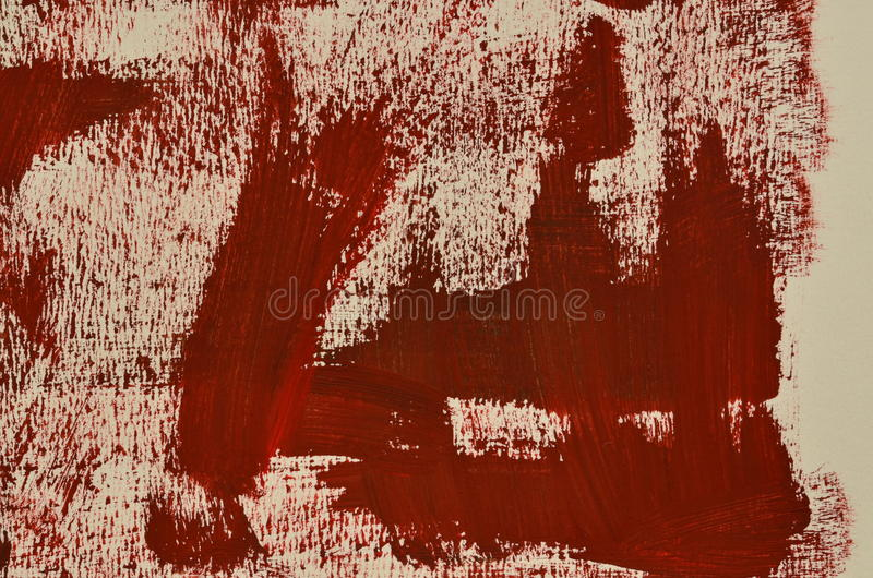 Hand painted multi-layered dark red background.  royalty free stock photos