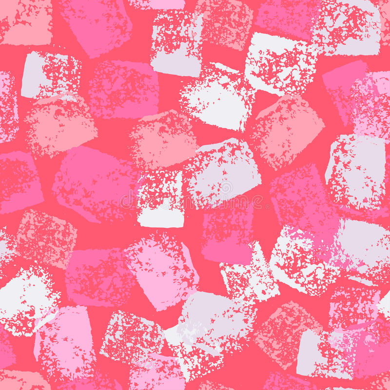 Hand painted textured tender rose seamless pattern vector illustration