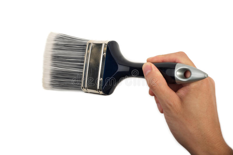 Hand Painting Stock Photo