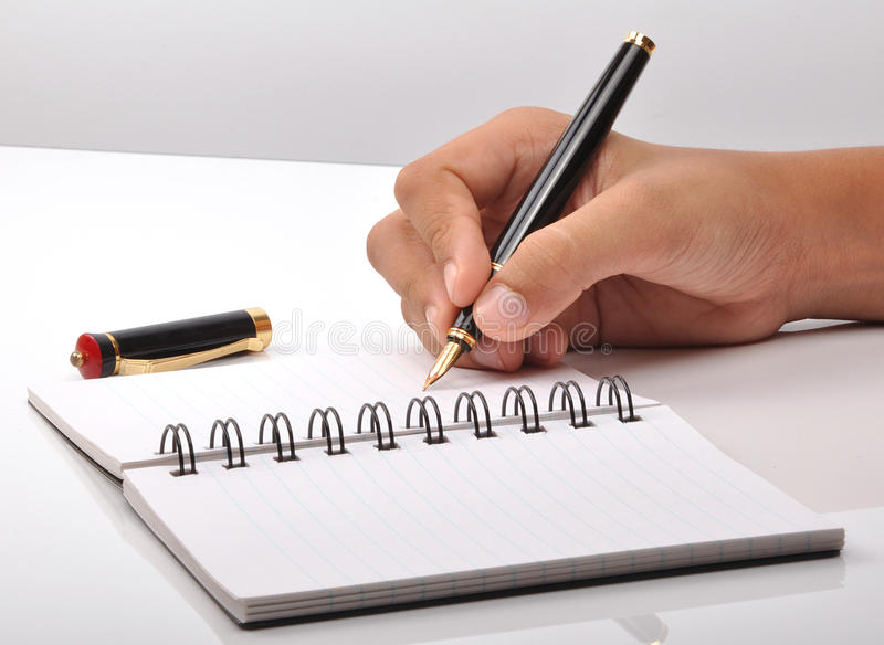 Download Hand With Pen Royalty Free Stock Photography - Image: 10720137
