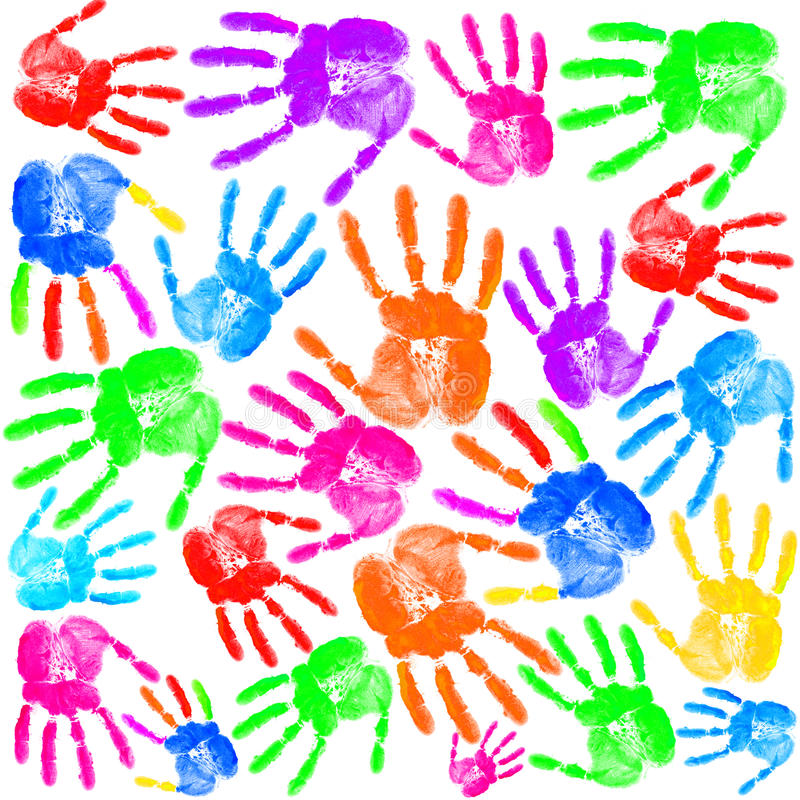 Download Hand print stock photo. Image of image, color, colorful - 22992594
