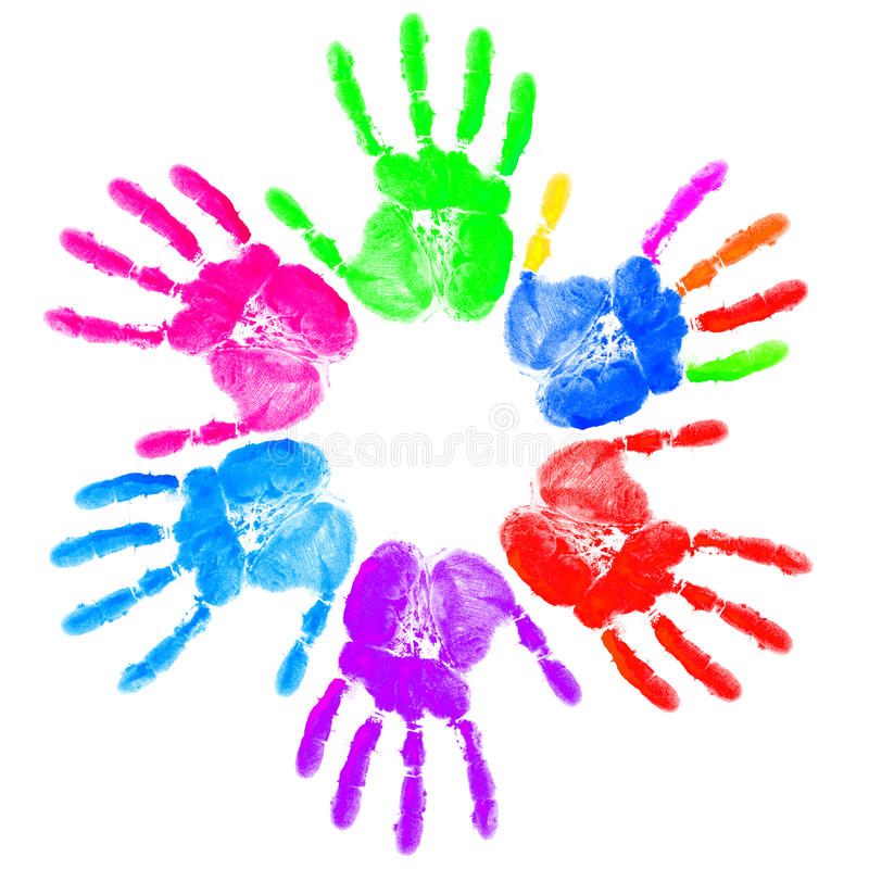Download Hand print stock image. Image of color, concepts, colors - 23605001