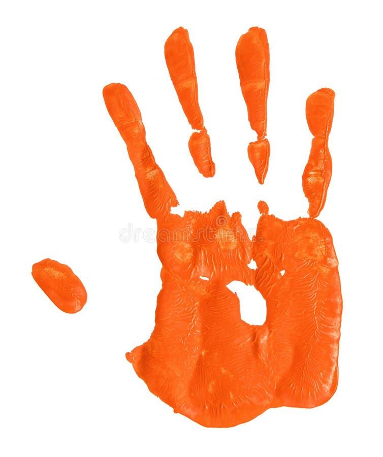 Free Hand Print Stock Photography - 56555382
