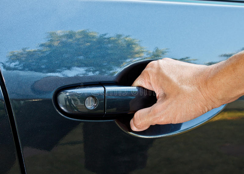 car door handle hand. Fine Car Download A Hand Pulling Car Door Handle Stock Photo  Image Of Close  Detail With