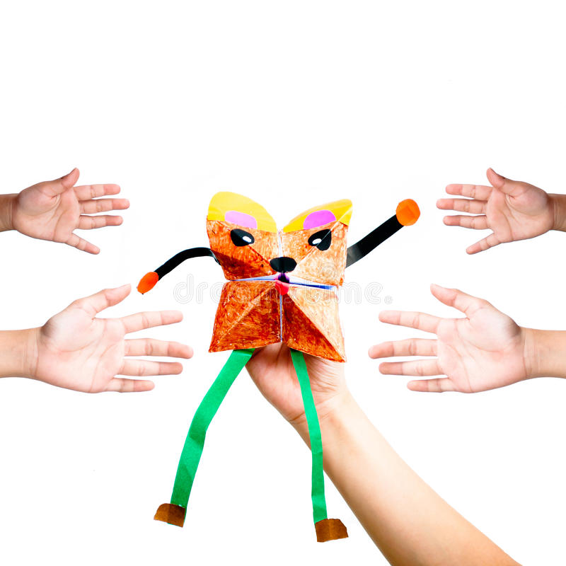 Download Hand Puppet Royalty Free Stock Photo - Image: 25346675