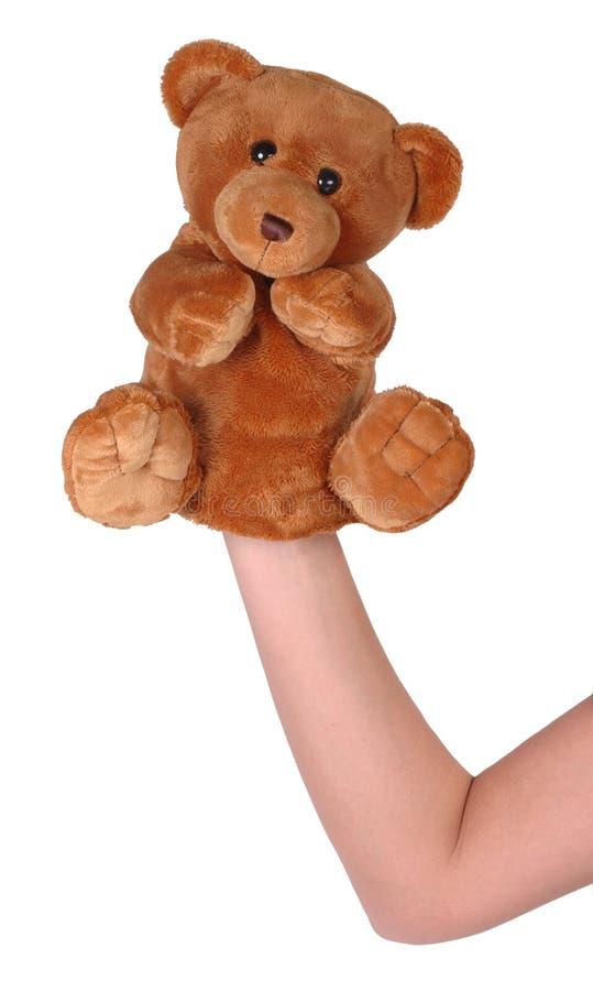 Hand Puppet Of Bear Stock Photo