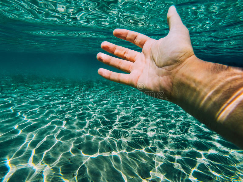 Download Hand reached stock photo. Image of danger, diving, below - 42782550