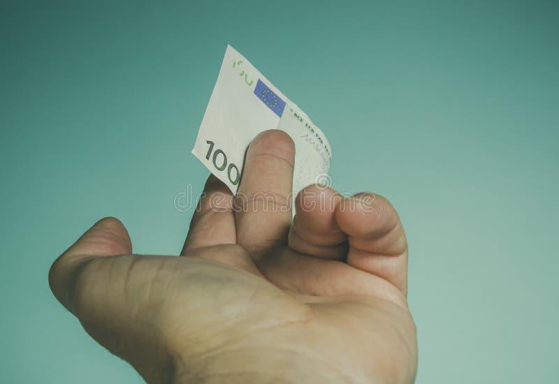 Hand reaching money royalty free stock photos